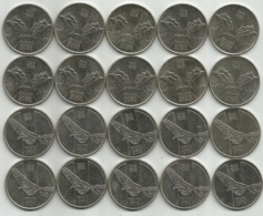 Yugoslavia 10 Dinara 1983. Sutjeska And Neretva X 10 Sets= 20 Coins FREE SHIPPING - Joegoslavië