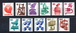 Berlin   402  - 411 + 453 ** Postfrisch    Unfallverhüttung - Unused Stamps