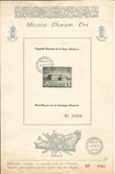 PRIVE - 1942 - 2 Feuillets Luxe Numérotés (02065) Avec PR 47 Et 48 (blocs) Oblitérés Premier Jour - Belgium
