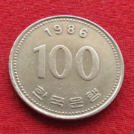 Korea South 100 Won 1986 KM# 35.2  Corea Coreia Do Sul Koree Coree - Korea, South