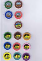 Casino Chips Roulette Chips SBM Casino De Monte-Carlo Vintage Set - Casino