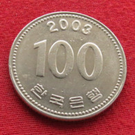 Korea South 100 Won 2003 KM# 35.2  Corea Coreia Do Sul Koree Coree - Corée Du Sud