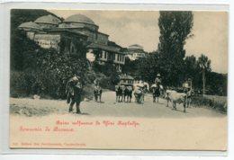 TURQUIE Souvenir De BROUSSE BURSA Bains Sulfureux De Yéni Kapudja Paysans Et Vaches Sur Route No 340 Edit M    D13 2019 - Turquie