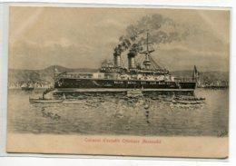 TURQUIE Marine Cuirassé D'Escadre Ottomane MESSOUDIE 1900 Illustrateur A . LOVRHI      D13 2019 - Turquie
