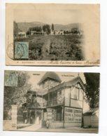 21 SANTENAY 2 Cartes Les Sources Vue Large Et Entrée 1904 Timb   D13 2019 - Other Municipalities