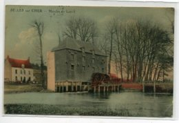 41 SELLES Sur CHER Carte RARE Le Moulin De LRARIT Couleur écrite Timbrée 1922 écrite     D13 2019 - Selles Sur Cher