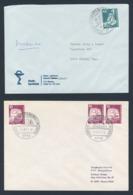 Deutschland Germany 1977 2x Brief Cover - Museumsbahn Blumberg, Wutachtal / Museum Railway - Treinen