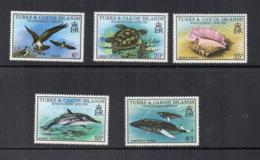 Turks & Caicos Island - 1979 - Fauna In Via Di Estinzione - 5 Valori - Nuovi - Linguellati - (FDC16976) - Turks E Caicos