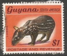 Guyana. 1968 Definitives. $1 Used. SG 460 - Guyana (1966-...)
