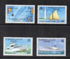 Turks & Caicos Island - 1978 - Turks Islands Passage - 4 Valori - Nuovi - Linguellati - (FDC16977) - Turks E Caicos