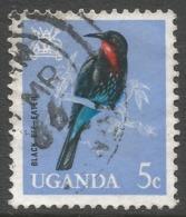 Uganda. 1965 Birds. 5c Used. SG 113 - Uganda (1962-...)