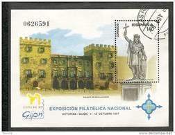 1997-ED. 3512 H.B.-EXFILNA'97-USADO- - Blocs & Hojas