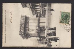 16231 Venezia - Campanile Di San Marco In Costruzione 20-2-1908 F - Venezia