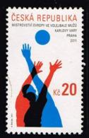 Tschechien 2011, Michel# 689 O 2011 Men's European Volleyball Championship - Czech Republic