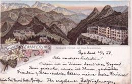 AUTRICHE(SEMMERING) GRUSS(HOTEL) - Semmering