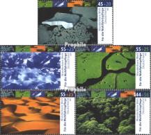 BRD 2423-2427 (kompl.Ausg.) Postfrisch 2004 Klimazonen - BRD