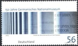BRD 2269 (kompl.Ausg.) Postfrisch 2002 Germanisches Museum - BRD