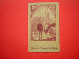 MENU 10 JUIN 1943 ILLUSTRATION CATHEDRALE DE CHARTRES - Menus