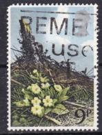 Gran Bretagna, 1979 - 9p British Wild Flowers - Nr.855 Usato° - 1952-.... (Elisabetta II)