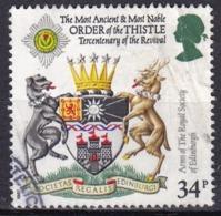 Gran Bretagna, 1987 - 34p The Royal Society, Edimburgh - Nr.1187 Usato° - Usati