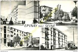 93. EPINAY SUR SEINE .  CP Multivues . - France
