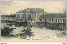 87.  LIMOGES .  Gare Des Bénédictins . - Limoges