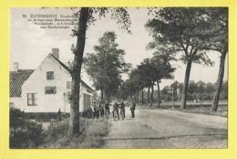 * Zuienkerke - Zuyenkerke (Brugge) * (Edit Théo Hoste Nachtegaele, Nr 18) Baan Naar Blankenberge, Kruiskalsijde, Animée - Zuienkerke