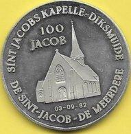 100 JACOB 1982 ST. J. KAPELLE - DIKSMUIDE - Tokens Of Communes