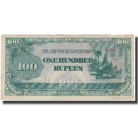 Billet, Birmanie, 100 Rupees, KM:17a, TB - Myanmar
