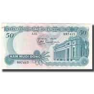 Billet, South Viet Nam, 50 D<ox>ng, KM:25a, SPL - Viêt-Nam