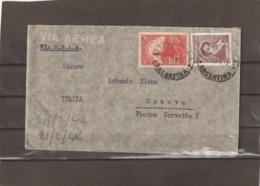Argentina VIA BSAA AIRMAIL COVER TO Italy 1946 - Posta Aerea