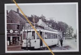 "REPRODUCTION Lijn ""A"" LEUVEN DIEST TRAM PUBLICITEIT MIR BIER HAAECHT COCA COLA VELO FITS - Tramways"