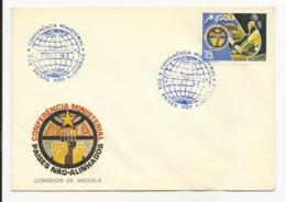 Cover - Angola - Luanda 1985 - Conferência Ministerial Dos Países Não Alinhados - Angola