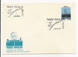 Cover FDC - Angola - Luanda 1980 - Poder Popular - Angola