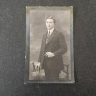 De Groote, Burms, Heusden 1898,Gent 1918,met Sigaar En Hoed Vast. - Religion & Esotérisme