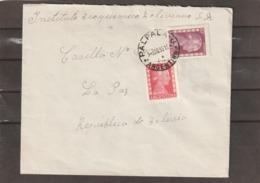 Argentina PALPALA PERON COVER TO Bolivia 1953 - Storia Postale