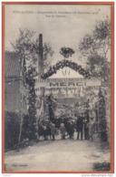 Carte Postale 59. Poix-du-Nord Inauguration  Rue Du Calvaire  Trés Beau Plan - France