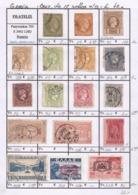 Grecia - Fx. 3646 - Seleccion De 17 Sellos Antiguos Diferentes - Ø - Collections