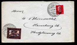 A6313) DR Brief Altona 16.11.30 Sonderstempel Ausstellung U. Seltene Vignette - Deutschland