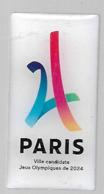 Pins - Paris - Jeux Olympique 2024 - Jeux Olympiques