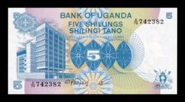 Uganda 5 Shillings 1979 Pick 10 SC UNC - Uganda