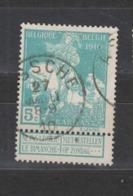 COB 90 Oblitération Centrale ASSCHE - 1910-1911 Caritas