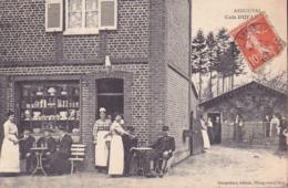 CPA - 76 - ARDOUVAL - Café Dufailly - RARE !!!!! - France