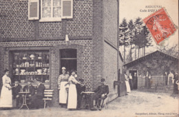 CPA - 76 - ARDOUVAL - Café Dufailly - RARE !!!!! - Francia