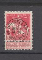 COB 91 Oblitération Centrale BRUXELLES Agence N°41 - 1910-1911 Caritas