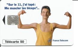 Télécarte LE 11 BICEPS - 50 U SC7 - 06/96 Utilisée - 1996