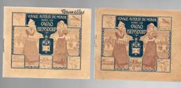 W962 - LIVRET BENSDORP - 2 PARIS 9 BRUXELLES 4 VIENNE 15 COPENHAGUE HAMBOURG 16 BUDAPEST PRAGUE 18 BERNE HEIDELBERG - Chocolate