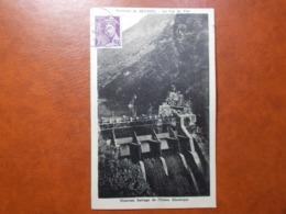 Carte Postale  - Environs De SEYSSEL (38) - Le Val De Fier - Nouveau Barrage De L'Usine Electrique (3528) - Seyssel