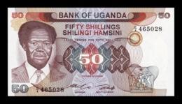 Uganda 50 Shillings 1985 Pick 20 SC UNC - Uganda