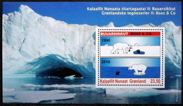 Greenland 2010   Minr.565-  BLOCK 50   MNH  ( ** ) ( Lot  Mappe  ) - Unused Stamps